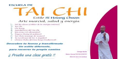 Clases semanales de Chi Kung Tai Chi (Estilo Si Hsiang Chuan) entradas