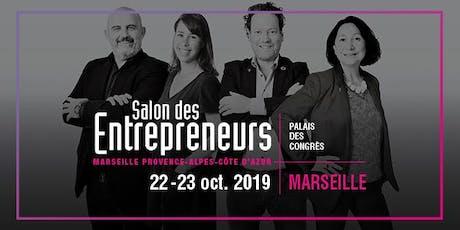 [Marseille] Salon des Entrepreneurs du 22 et 23 octobre billets