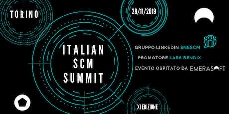 Italian SCM Summit biglietti