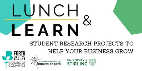 Lunch & Learn - Student Research Projects To Help Your Business Grow tickets