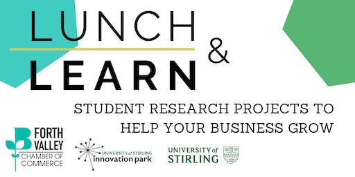Lunch & Learn - Student Research Projects To Help Your Business Grow