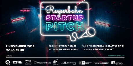 Reeperbahn Startup Pitch 2019 Tickets