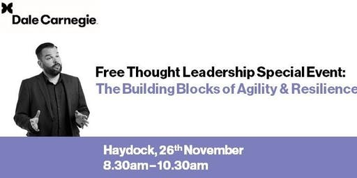 Free Seminar - The Building Blocks of Agility and Resilience