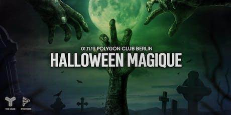 Halloween Magique Tickets