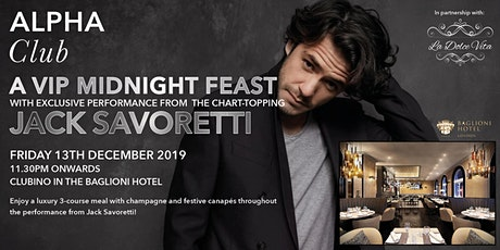 An Evening with Jack Savoretti tickets