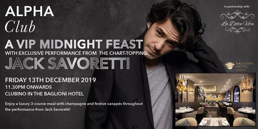 An Evening with Jack Savoretti
