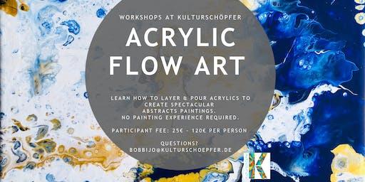 Acrylic Flow Art Painting Workshop