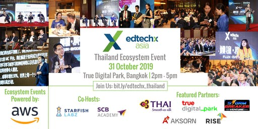 EdTechX Startup Pitch Competition - Thailand