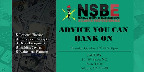 Advice You Can Bank On: Managing Your Personal Finances tickets