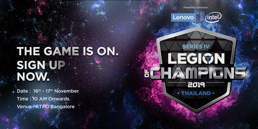 Legion of Champions Series IV PUBG India LAN Finale | Bangalore