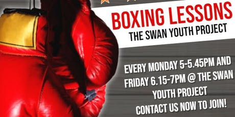 Boxing Lesssons @ The Swan Youth Club -£5 per session tickets