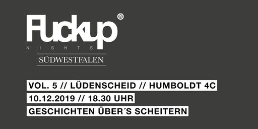 Fuck Up Night Südwestfalen Vol. 5