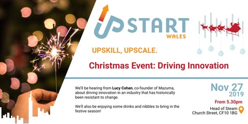 UpStart Wales Christmas Event: Driving Innovation