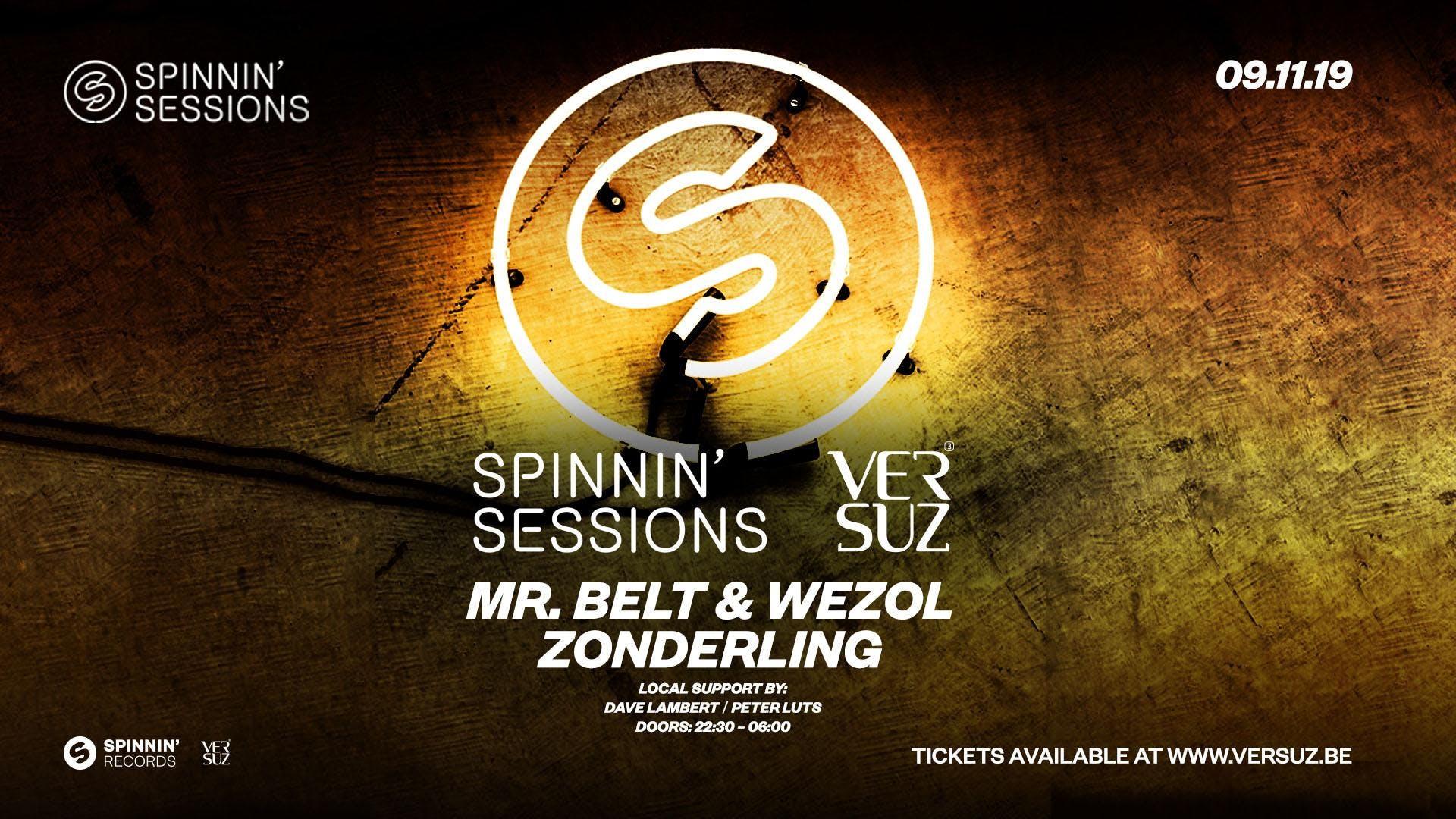 Spinnin' Sessions Versuz w/ Zonderling & Mr. Belt & Wezol