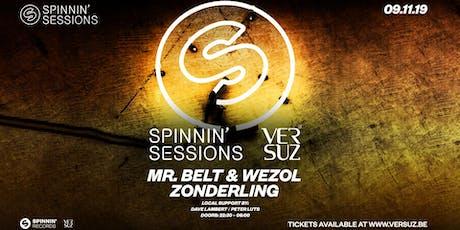 Spinnin' Sessions Versuz w/ Zonderling & Mr. Belt & Wezol tickets