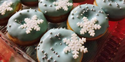 Frozen Donut Decorating