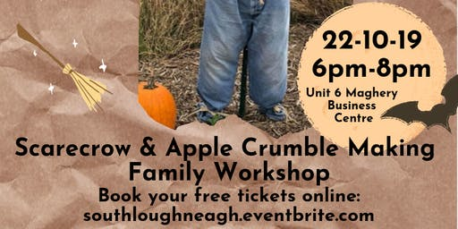 How it was - Scarecrow & Apple Crumble Making  Family Workshop