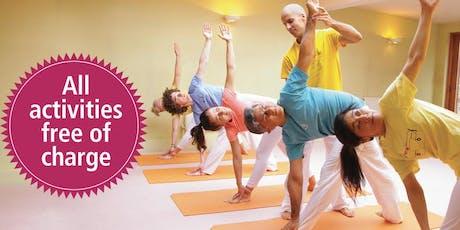 Free Autumn Yoga Festival tickets