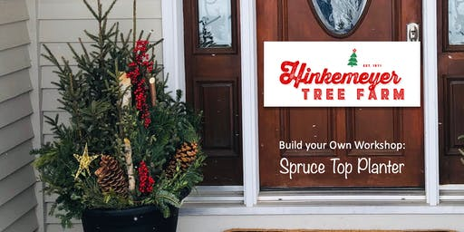 Build Your Own Workshop: Spruce Top Planter