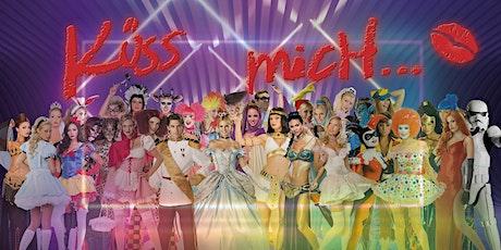 Küss mich... auf dem FASCHINGSFESTIVAL im Parlament SAMSTAG 22.2.2020  Tickets
