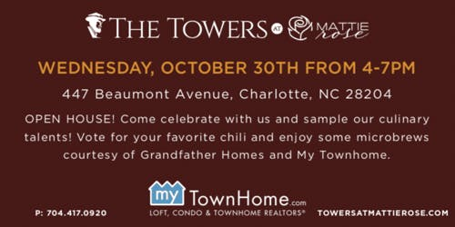 Realtor Event - Chili Cook Off at The Towers @ Mattie Rose in Elizabeth