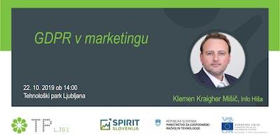 GDPR v marketingu