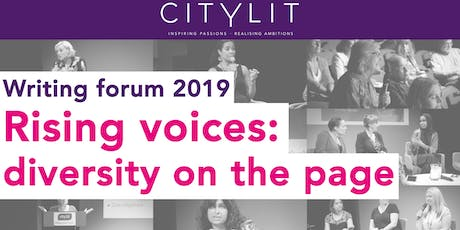 City Lit's Writing Forum 2019: Rising voices - diversity on the page tickets