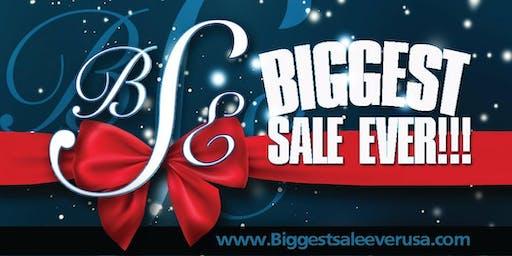 Biggest Sale... Ever!