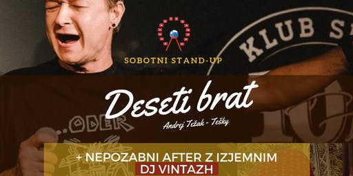 Slovenski Vikend 2019: Stand-up SOBOTA + AFTER