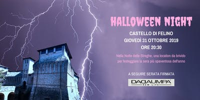 Halloween Party al Castello di Felino