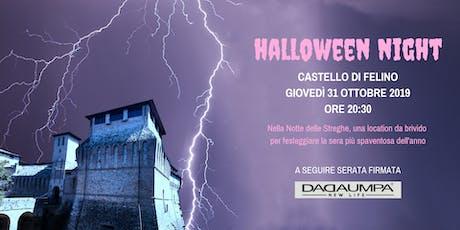 Halloween Party al Castello di Felino biglietti