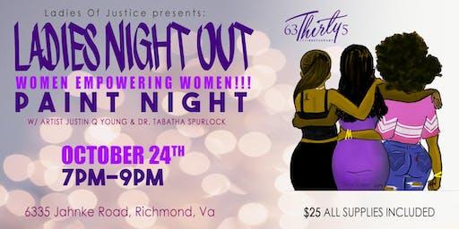 Ladies Night Out: Women Empowering Women Paint Night