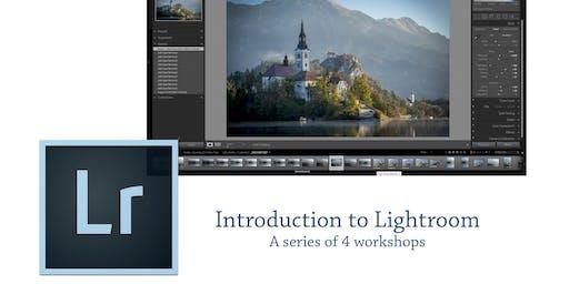 Adobe Lightroom classes, Forgan Art Centre, Fife