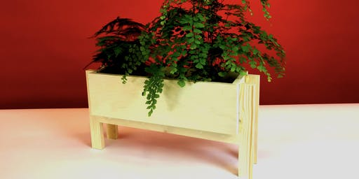 Plywood Planter