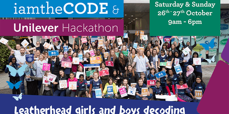 Unilever & iamtheCODE Leatherhead Global Goals Hackathon tickets