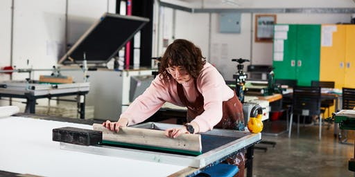 Explore Paper Screen Printing: Five Week Course