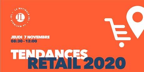 MATINALE JDL : Tendances Retail 2020 billets
