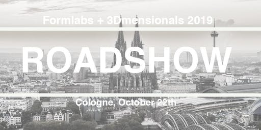 Formlabs-Roadshow bei 3Dmensionals in Köln
