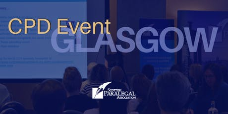 CPD Event - Scottish Paralegal Association tickets