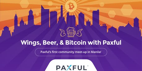 Wings, Beer, & Bitcoin with Paxful tickets