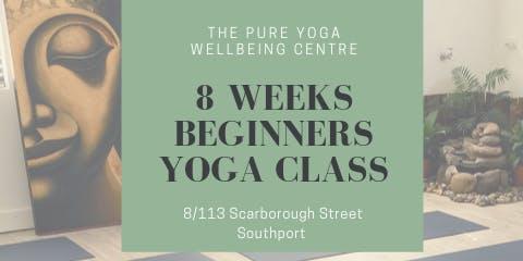8 Weeks - Beginner Yoga