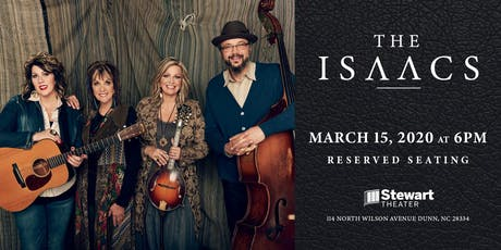 The Isaacs at the Stewart Theater tickets