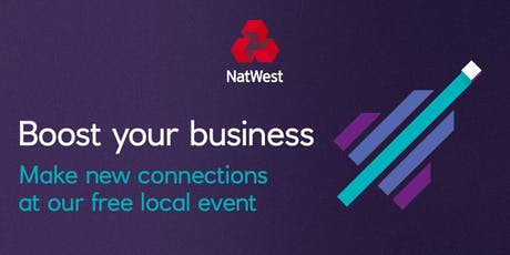 Four steps to More Clients & Sales #NatWestboost tickets