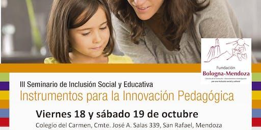 III Seminario de Inclusión Social y Educativa SAN RAFAEL