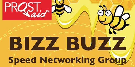 Bizz Buzz Speed Networking- 8th January 2020 12-2pm