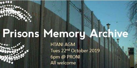HTANI Prison Memory Archive event tickets