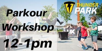 Parkour Workshop - Charity Taster event - 12-1pm