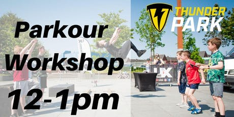Parkour Workshop - Charity Taster event - 12-1pm tickets