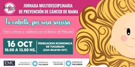 Jornada Multidisciplinaria de Prevención de Cáncer de Mama entradas