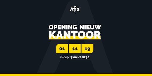 Afix. Opening nieuw kantoor!